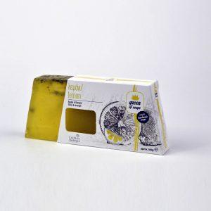 Σαπούνι για λάμψη και δύναμη με ζεόλιθο, λουίζα, χυμός και αιθέριο έλαιο λεμονιού