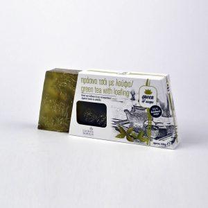 Σαπούνι κατά της κυτταρίτιδας με ζεόλιθο, λούφα, βότανο και αιθέριο έλαιο τσάι